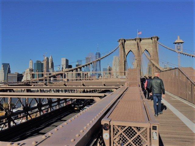 Brooklyn bridge pap