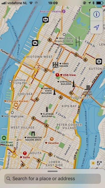 YMCA West Side locatie