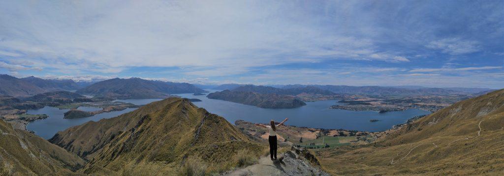 NZ wanaka robs roys peak track hike