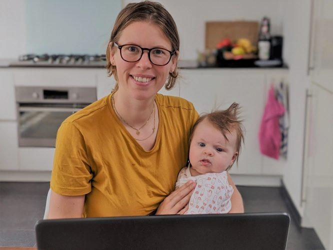 IACK werken met baby