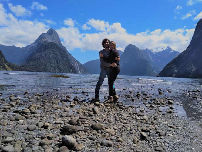 NZ milford sound budget travel cut