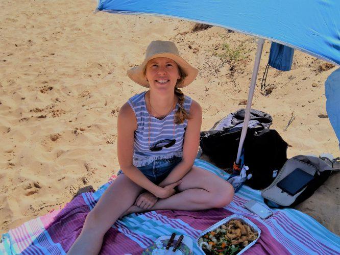 Prinsjesdag 2019 hoedje op het strand