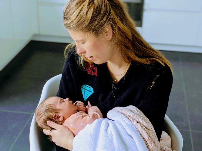 ZEZ zwangerschapsverlof zelfstandigen moeder met baby