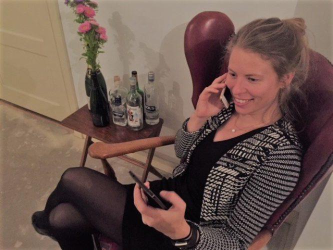 Telefoon privé of zakelijk ondernemers