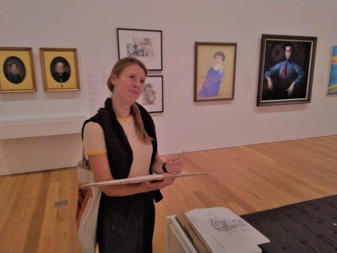 voortang FO meten museum kunst